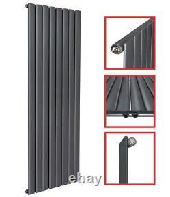 Design Paneelheizkörper Plan Flachheizkörper Mittelanschluss Anthrazit 1600x619