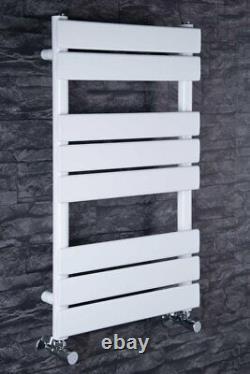 Designer Chrome Heated Towel Rail Radiators -Valves options 10 Year Warranty