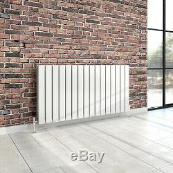 Designer Horizontal Vertical Radiator Flat Panel Central Heating White Tall Up