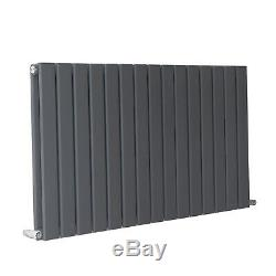 Designer Radiator Flat Panel Central Heating Radiators Single Double Grey Sale