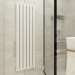 Designer Radiator Vertical Anthracite White Flat Panel Rads Central Heating