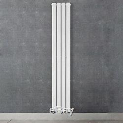Designer Radiator Vertical Horizontal White Flat Panel Oval Column Panel Rads
