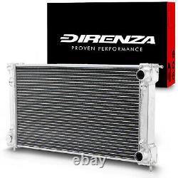 Direnza 42mm Aluminium Race Radiator Rad For Vw Golf Mk1 Mk2 Jetta Scirocco Gti