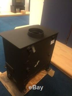 Dunsley Highlander 8 Multi-fuel Stove with Central Heating Boiler for radiators