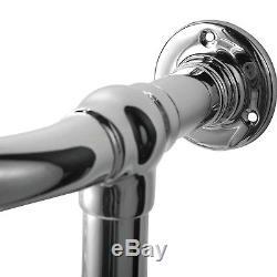 ENKI 963x583mm Traditional Bathroom Central Heated Towel Rail 6 Column Radiator