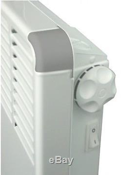 Efficient Electric Heater Radiator Central Heating 500 2500 mm Atlantic F17