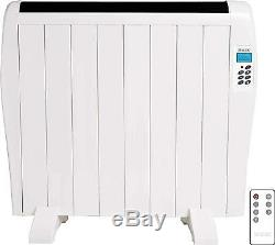 Electric Panel Heater Radiator With Timer Wall Mounted Digital Slim Convector