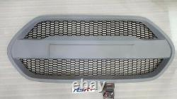 (Fits Hyundai 2013-2016 Veloster Turbo) Front Radiator Hood Grille UNPAINTED
