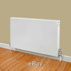 Flat Panel Horizontal Type 11 Central Heating Radiator 500mm x 1200mm White