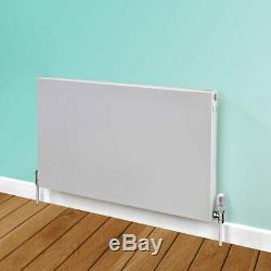 Flat Panel Horizontal Type 22 Central Heating Radiator 400mm x 1200mm White