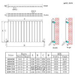 Flat Panel Radiator Horizontal Vertical White Anthracite Column Central Heating