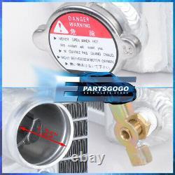 For 82-02 Chevy S10/Blazer 84-90 Corvette V8 3 Row Performance Aluminum Radiator