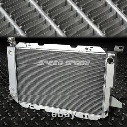 For 85-96 F-150/f-250/f250/bronco 5.0l/5.8l V8 3-row Aluminum Racing Radiator