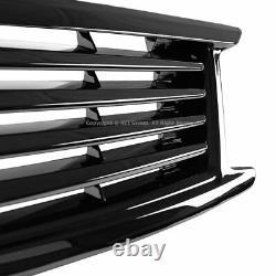 Front Bumper Glossy Black Grille For Infiniti 10-13 G37 11-12 G25 2015 Q40 Sedan