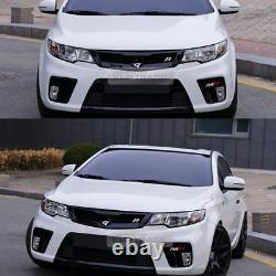 Front Radiator Hood Grille Cover Unpainted 1ea for KIA 2010-13 Cerato Forte Koup
