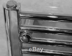 Heated Towel Ladder Rail Bathroom Radiator Warmer Central Heating Curved Flat