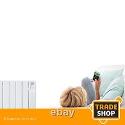 Heatstore Intelirad Hsdi1000 Oil-filled Electric Radiator 1kw With Bluetooth