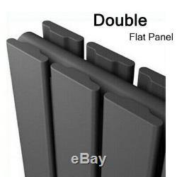 Height 23.6'' Designer Radiator Panel Anthracite Bathroom Central Heating UK