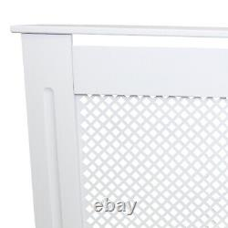 Heizkörperverkleidung Heizkörperabdeckung Heizkörper Abdeckung 1115mm Weiß