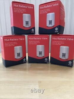 Hive TRV Thermostatic Radiator Valve X 5