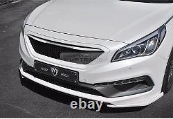 Honeycomb Hood Radiator Grille Unpainted for HYUNDAI 2015-2017 Sonata LF i45