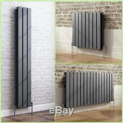 Horizonal Vertical Designer Flat Panel Central Heating Radiator Rad Anthracite