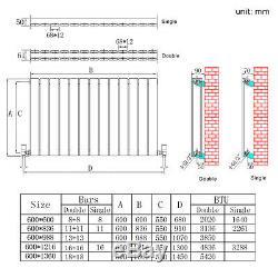 Horizontal Column Radiators Single & Double Flat Panel Central Heating Radiators