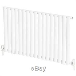 Horizontal Designer Column Radiators Double & Single Central Heating Panel NEW