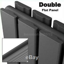 Horizontal Flat Panel Column Designer Towel Radiator Central Heating Anthracite