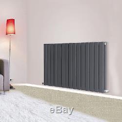 Horizontal Flat Panel Designer Radiator Bathroom Central Heating Rads Anthracite