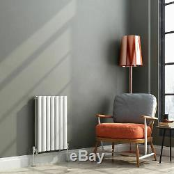 Horizontal Oval Column Designer Radiators Panel Rad White Anthracite Modern
