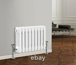 Horizontal Traditional Column Radiator 2 3 Column Bathroom Cast Iron Style Rads