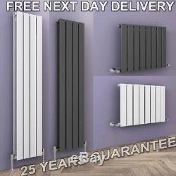 Horizontal/Vertical Designer Radiator Flat Panel Bathroom Central Heating UK Rad