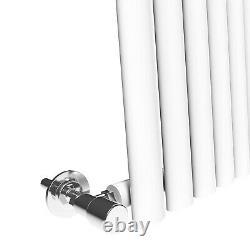 Horizontal Vertical Oval Column Designer Radiator Central Heating Rad Modern