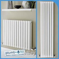Horizontal & Vertical White Designer Radiators Double & Single Central Heating