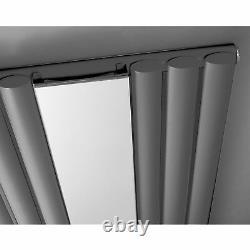 Hudson Reed Single Panel DESIGNER Radiator With Mirror HLA78 1800mm x 499mm