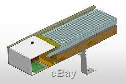 INFRAROTHEIZUNG 4000 Watt Infrarotstrahler Deckenstrahler Hallenheizung HDW