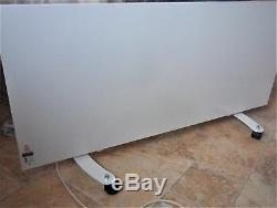 Infrared Heater Panel, built in digital Thermostat. Wall mounted or free standing
