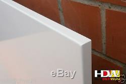Infrarotheizung 400 750 1050 W Front-Thermostat eingebaut Speicherheizung HDW