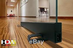 Infrarotheizung 650 Watt Glasheizung tragbar 100 % Klar HDW DH5510