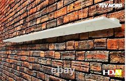 Infrarotheizung Deckenheizung IR Heiz-Paneel 450 W. Deckenmontage HDW Stahl