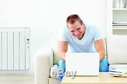 Infrarotheizung Elektroheizung mit digitalem Thermostat + Wandhalterung 750 W