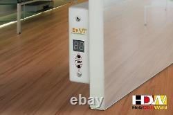 Infrarotheizung Glasheizung 550 750 1000 Watt, Thermostat integriert HDW