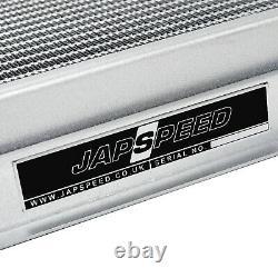 Japspeed Aluminium Alloy Race Radiator Rad For Mazda Mx-5 Mx5 Mk1 Na 1.6 Manual