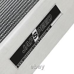 Japspeed Universal 100mm High Flow Aluminium Alloy Race Sport Radiator