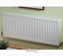 Kartell Type 21 600 x 1800 White Radiator Compact Double Panel Plus Convector