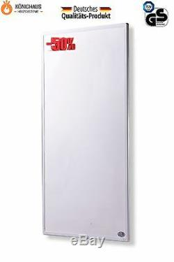 Könighaus Infrarot Heizung P 1000 W (TÜV) Deutscher Hersteller -mit Thermostat