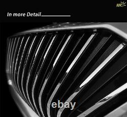 MOMOREAL New Front Radiator Grille Chrome / Black For Hyundai Palisade 2019+