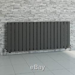 Modern Bathroom Horizontal Flat Panel Central Heating Designer Radiators