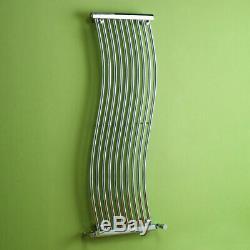 Modern Chrome Vertical Horizontal Designer Radiator Central Heating Kartell